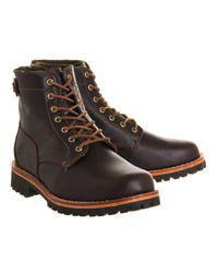 Timberland Brown Heritage Ltd Back Zip Boot for men