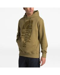 The North Face Green Trivert Pullover Hoodie for men