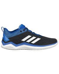 Adidas Blue Speed Trainer 4 Turf Shoes for men