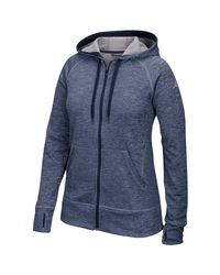 Adidas Blue Team Issue Full-zip Hoodie