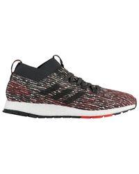 Adidas Black Pureboost Rebel Running Shoes for men