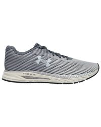 Under Armour Gray Hovr Velociti 2 Running Shoes for men