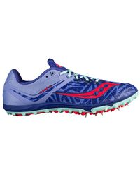Saucony Blue Havok Xc Spike Covered Spikes