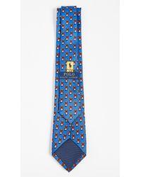Polo Ralph Lauren - Blue Skier Bear Tie for Men - Lyst