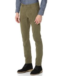 Rag & Bone Green Fit 2 Chinos for men
