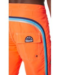 "Sundek - Orange 17"" Classic Board Shorts for Men - Lyst"