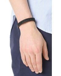 Miansai - Multicolor Beacon Leather Bracelet for Men - Lyst