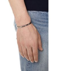 Miansai - Metallic Singular Cuff for Men - Lyst