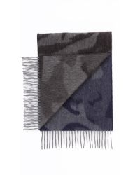 Begg & Co | Blue Camo Scarf for Men | Lyst