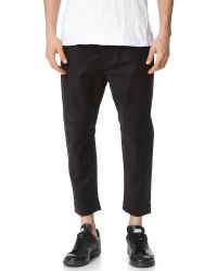 Chapter - Black Carl Trousers for Men - Lyst