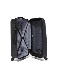 Herschel Supply Co. Black Medium Hardshell Trade Suitcase for men