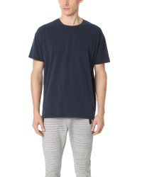 Zanerobe | Blue Rugger Tee for Men | Lyst