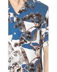 Stussy Blue Falcon Shirt for men