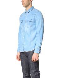 Ones Stroke - Pink Fringe Western Shirt for Men - Lyst