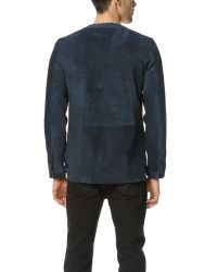 Timo Weiland - Blue Baseball Jacket for Men - Lyst