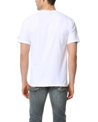 Stussy - White Aloha Cities Tee for Men - Lyst