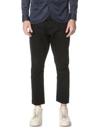 Han Kjobenhavn - Black Drop Crotch Jeans for Men - Lyst
