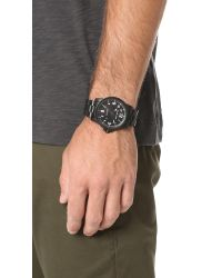 Michael Kors Black Paxton Stainless Watch for men