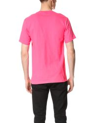 Stussy - Pink No. 4 Tee for Men - Lyst