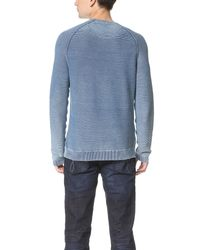 Calvin Klein Jeans - Red Crew Sweater for Men - Lyst