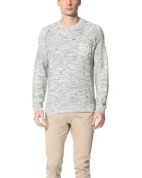 Calvin Klein Jeans - Black Crew Sweater for Men - Lyst