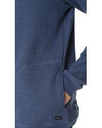 RVCA Blue Matchbook Fleece for men