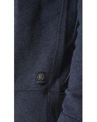 Club Monaco - Blue Essential Sweatshirt for Men - Lyst