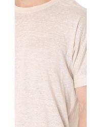 Calvin Klein Multicolor Polster Linen Tee for men