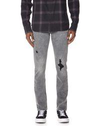 PAIGE Gray Lennox Jeans for men