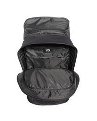 Y-3 - Black Ultratech Backpack for Men - Lyst