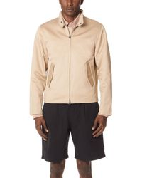 Saturdays NYC Natural Harrington Jacket for men