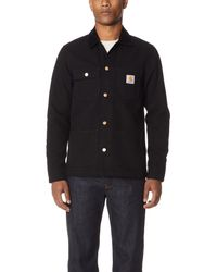 Carhartt WIP Black Michigan Chore Coat for men