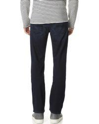 7 For All Mankind Blue Carsen Easy Straight-leg Luxe Performance Jean for men