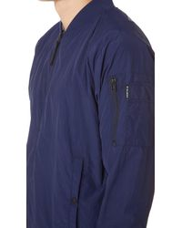 Penfield Blue Okenfield Bomber Jacket for men