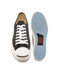 Converse - Black Jack Purcell Canvas Sneakers for Men - Lyst