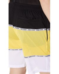 Opening Ceremony - Multicolor Colorblock Mesh Shorts for Men - Lyst