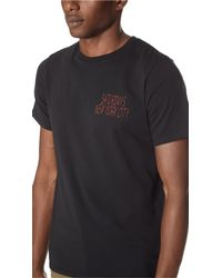 Saturdays NYC Black Wave Condemned Tee for men