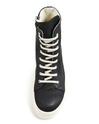 Rick Owens Drkshdw Black Scarpe Vegan Sneakers for men