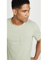 Vince Green Short Sleeve Pocket Tee for men