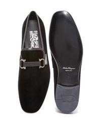 Ferragamo Black 'party' Bit Loafer for men