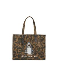 COACH Green Sharky Tote 42 for men
