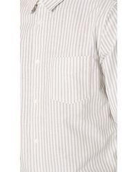 A.P.C. - White Oliver Shirt for Men - Lyst