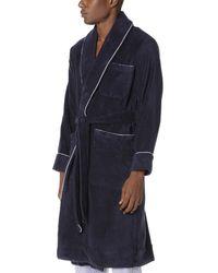 Sleepy Jones - Blue Terry Robe for Men - Lyst