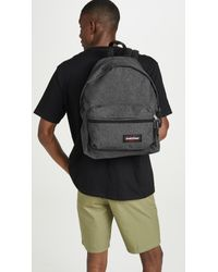 Eastpak Black Padded Zippl'r Backpack for men