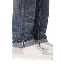 Fabric-Brand & Co. - Blue Zamir Selvedge Slim Fit Jeans for Men - Lyst