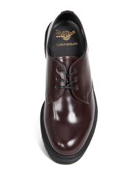 Dr. Martens - Brown Made In England Classics 1461 3 Eye Shoe for Men - Lyst