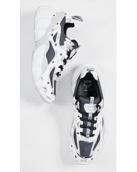MCM White Luft Collection For Pitti Uomo M. Sneakers for men