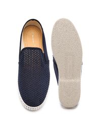 Rivieras - Blue Classic 20 Slip On Sneakers for Men - Lyst