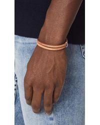 Miansai - Brown Beacon Leather Bracelet for Men - Lyst
