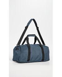 Eastpak Blue Stand Duffel Bag for men